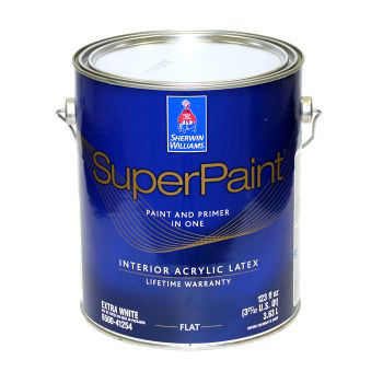 SuperPaint Interior Latex Paint - Sherwin-Williams 3,8 литра