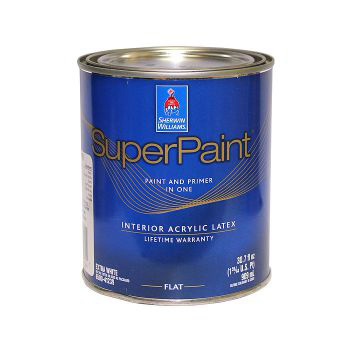 superpaint interior latex paint sherwin williams. Black Bedroom Furniture Sets. Home Design Ideas