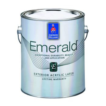 Emerald Exterior Acrylic Latex Paint - Sherwin Williams 3,8 литра