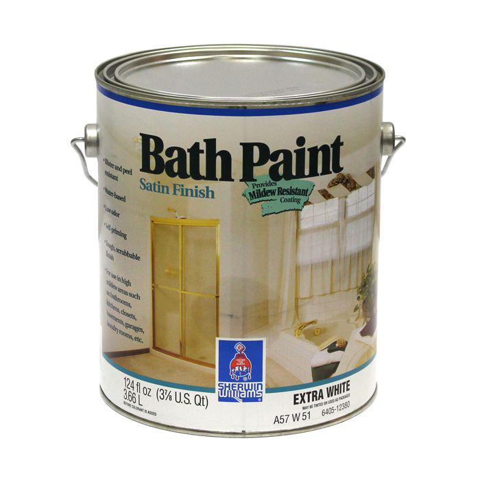 Краска для ванных комнат и кухонь Bath Paint Satin Finish ...