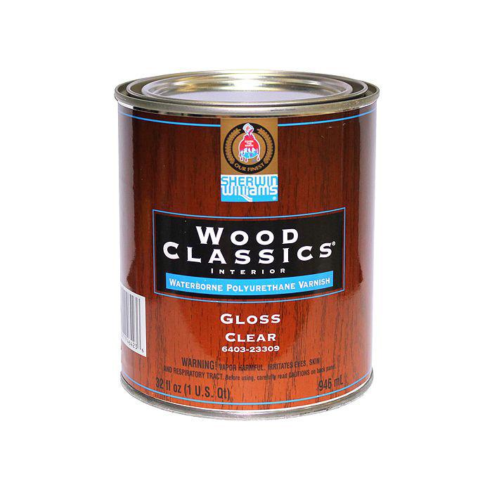 Лак для пола Wood Clics Waterborne