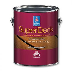SuperDeck Exterior oil-based semi-transparent stain - Sherwin-Williams 3,8 литра