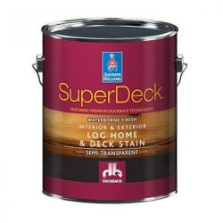 SuperDeck Log Home & Deck Stain - Sherwin-Williams 3,8 литра