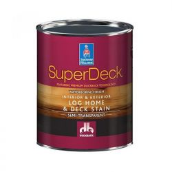 SuperDeck Log Home & Deck Stain - Sherwin-Williams 0,95 литра