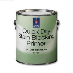 Quick-dry Latex Stain Blocker Primer - Sherwin Williams 3,8 л