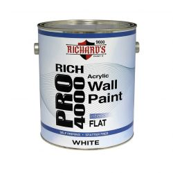 Rich Pro 4000 Interior Acrylic Wall Paint - Flat 0,946 литра