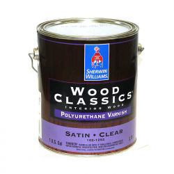 Wood Classics Polyurethane Varnish - Sherwin-Williams 3,8 литра