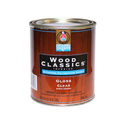 Wood Classics Waterborne Polyurethane Varnish - Sherwin-Williams 0,95 литра